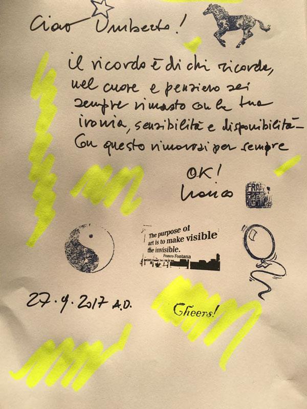 umberto facchini - Franco Fontana pensiero